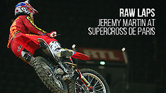 Raw Laps: Jeremy Martin at Supercross de Paris