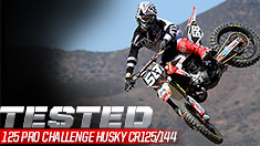 Tested: 125 Pro Challenge Husqvarna CR125/144