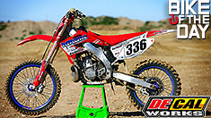 Bike of the Day: 2002 Honda CR250R