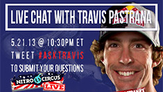 Live Chat with Travis Pastrana