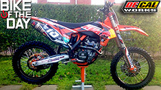 Bike of the Day: 2014 KTM 250SX-F