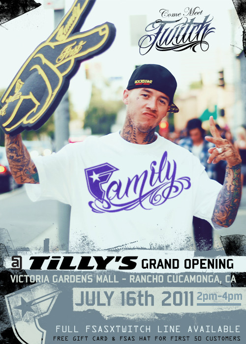 twitch signing this saturday at new tilly 39 s store in rancho cucamonga ca motocross press