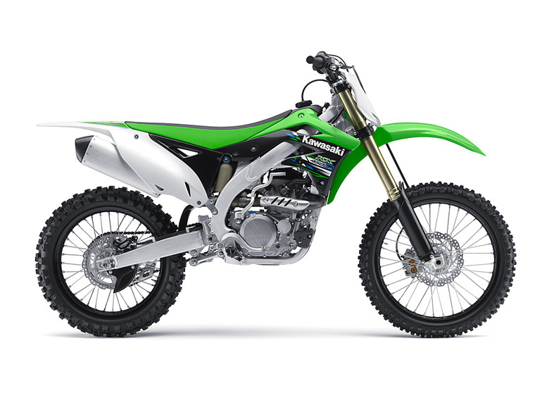 2013 Kawasaki KX450F and KX250F