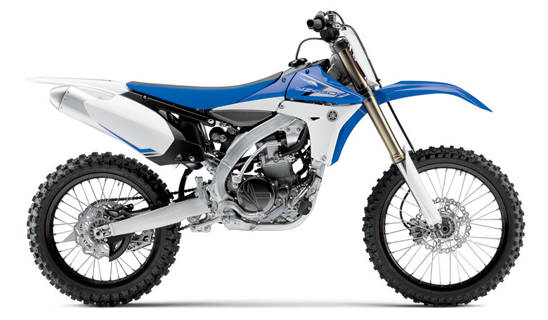 2013 Yamaha YZ250 and YZ450