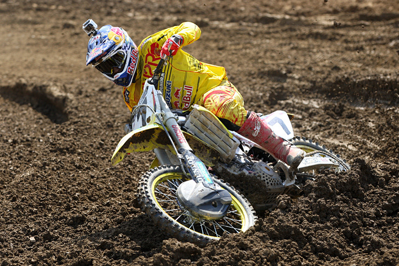 James Stewart eased into the practices, but in the end, laid down the fastest time.