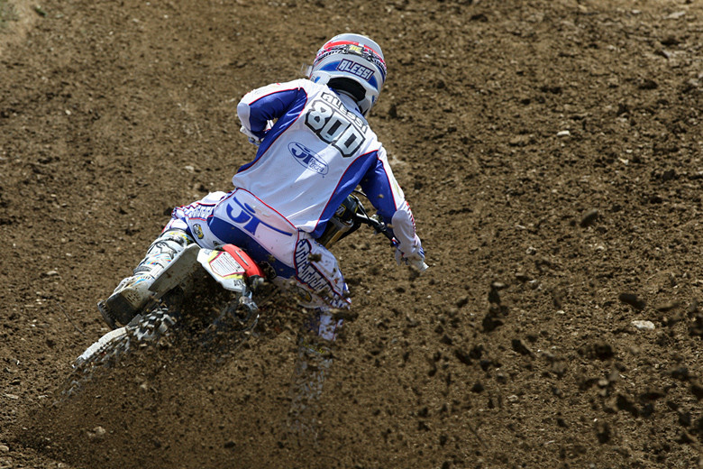 Mike Alessi (MotoConcepts) had a good day, leading for chunks of each moto, and passing for the lead in moto two, but in the end, Ryan Dungey was just a bit stronger.