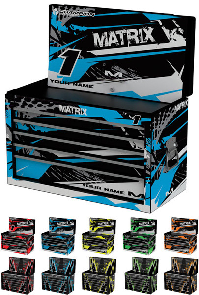 Matrix Concepts Factory Tool Box Custom ID Graphics Kits Now Available!