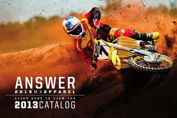 2013 Answer Racing Gear Launch