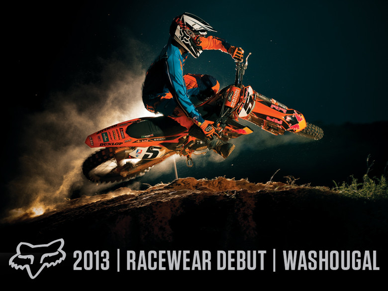 2013 Fox Racewear Debut @ Washougal