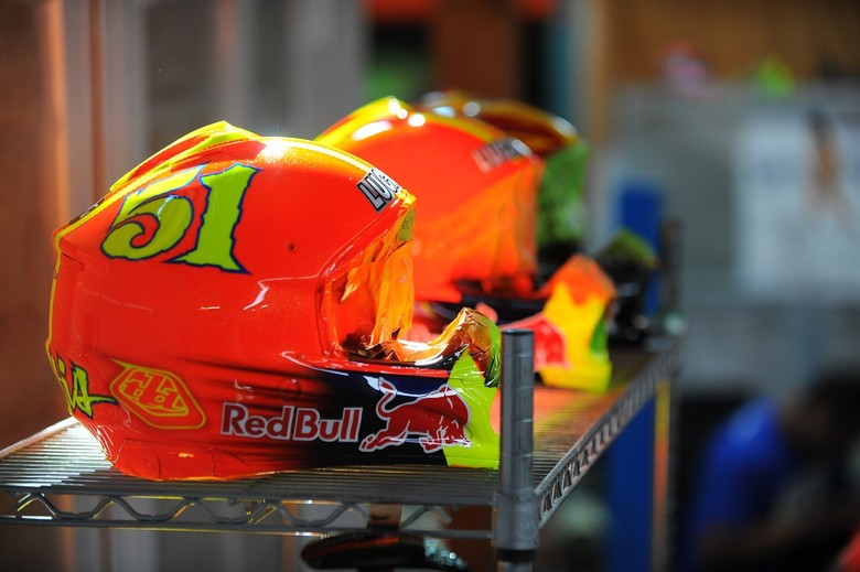 Fresh Paint: Custom TLD Helmets