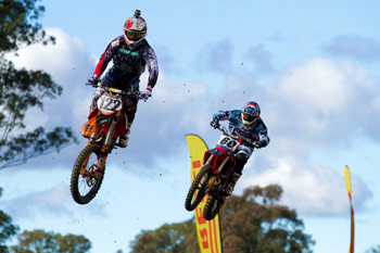 Dan Reardon raced to a fine fifth in the MX1 ranks. Image: Simon Makker/Makkreative.com.