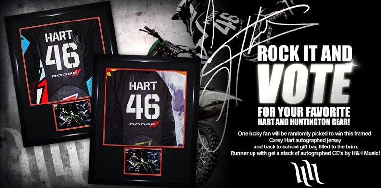 "Hart and Huntington Launches ""Rock It and Vote"" contest in partnership with Sears."