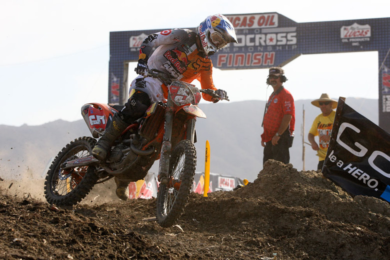 Ryan Dungey has had the speed this year, winning ten races, and the title.