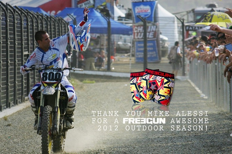 Freegun Congratulates Mike Alessi‏