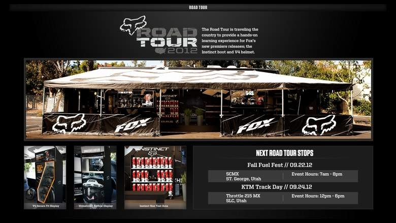 The Fox Road Tour Fall Fuel Fest at SCMX