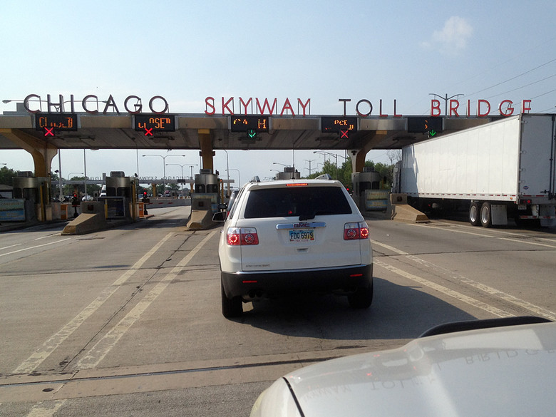 Man, Chicago has a lot of tolls.