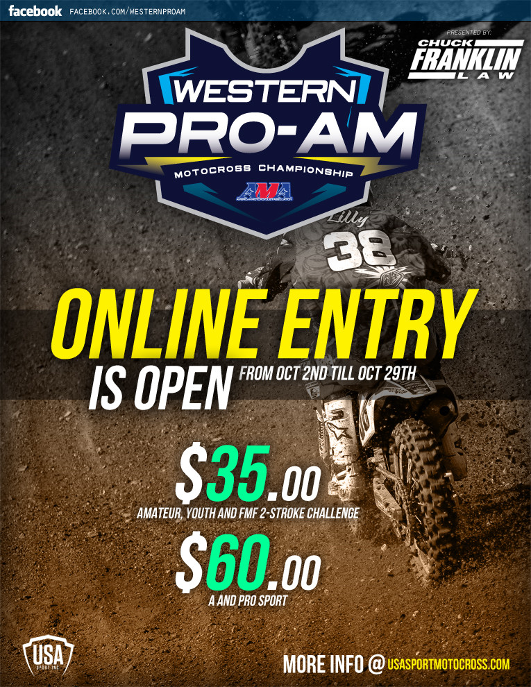 WPA Online Entry Has Opened up&rlm;