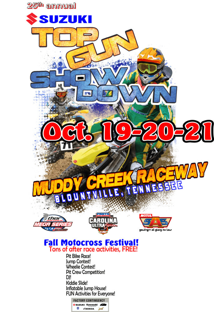 TopGun Showdown at Muddy Creek Raceway - Oct. 19-21