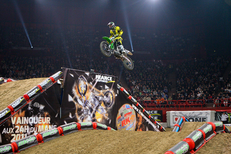 Jake Weimer (Monster Energy Kawasaki) went wire-to-wire over Wil Hahn (GEICO Honda) and Cyrille Coulon (Suzuki Tip Top) to nap the second heat win.
