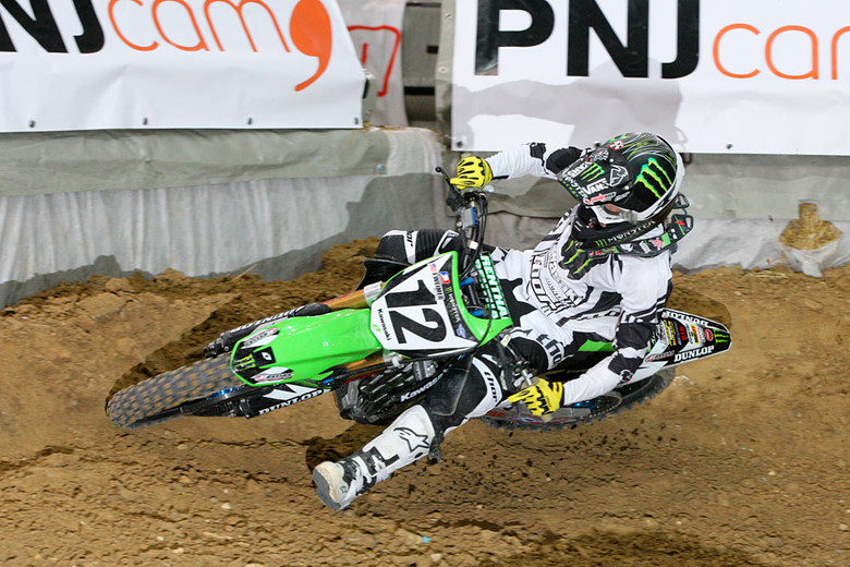 Jake Weimer grabbed the first heat race win.