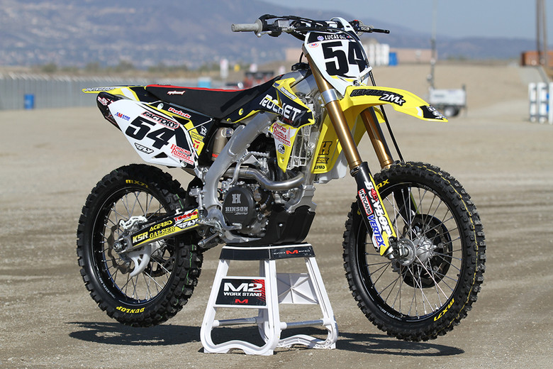 Weston Peick's Rocket Exhaust Suzuki is a National caliber machine that you can buy.