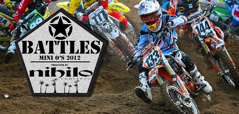 Nihilo Concepts Mini O's SX Battle Videos by MXPTV