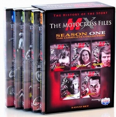 New Motocross Files DVD Releases