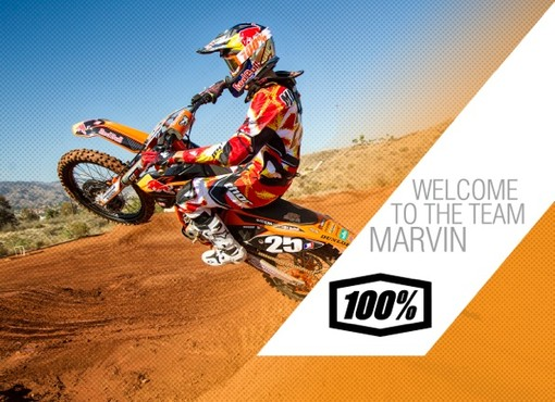 100% Signs Marvin Musquin