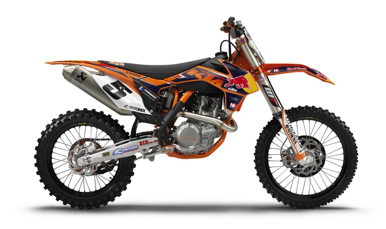 KTM Announces New 2013 450 SX-F Factory Edition