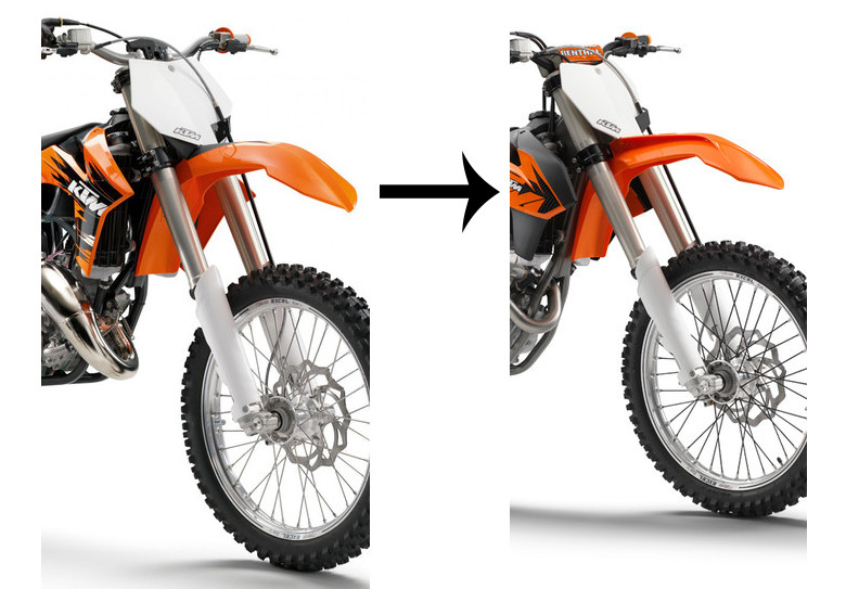 Make your 2009-2012 KTM look just like.............................................................................................................a 2013.