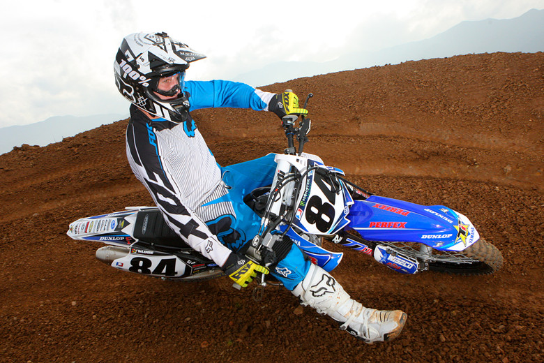 Chris Blose. He'll be teamed with Phil Nicoletti at N-Fab Ti Lube Yamaha team.