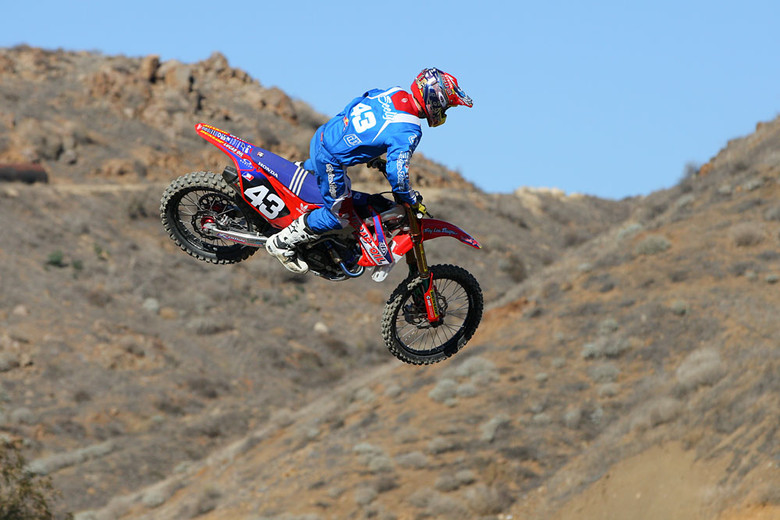 After some extended time off following internal injuries suffered near the end of the '12 Supercross season, it's really good to see Cole Seely back in action. From everything we've heard from the Troy Lee Designs Lucas Oil Honda crew, he hasn't lost a step, and actually may be even faster than before.