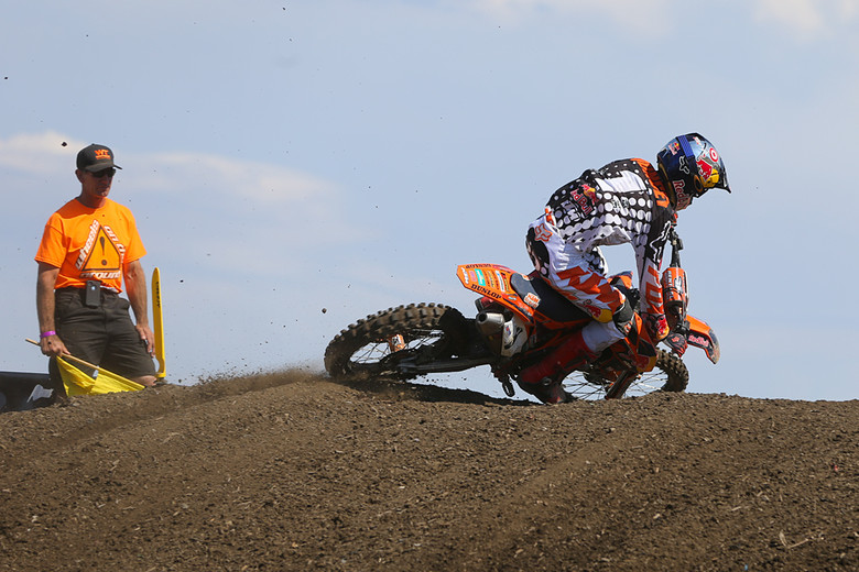 Ryan Dungey (Red Bull/KTM) took home second overall, and second in the series.