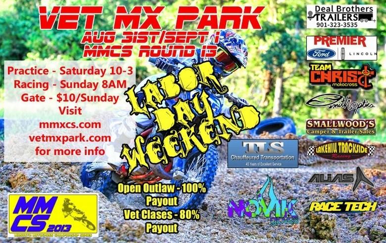 Labor Day Bash at Vet MX Park