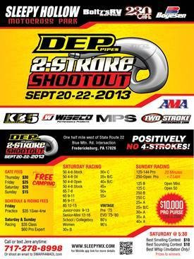 DEP Pipes 2-Stroke Shootout