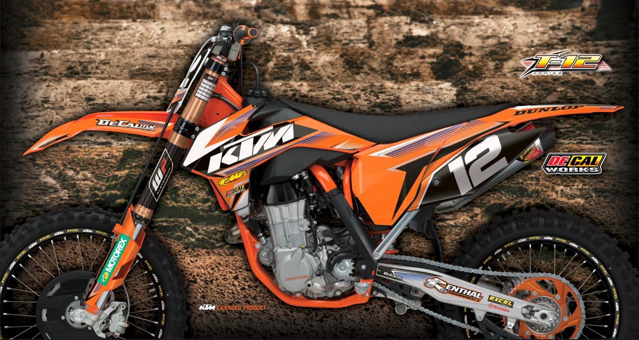 DeCal Works Adds T Series To Their Graphics Lineup Motocross - Decal works graphics