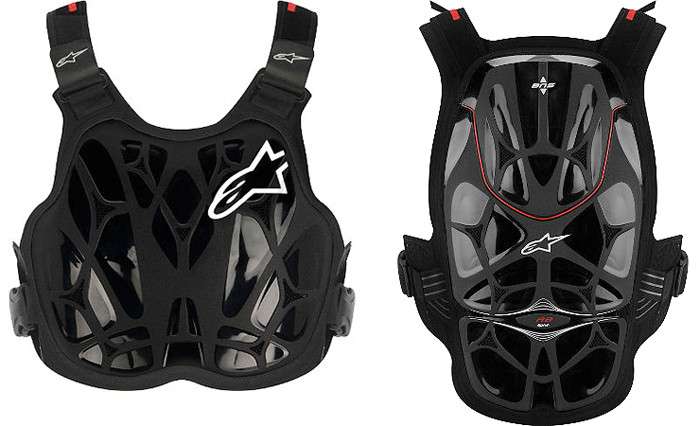 Leatt NEW Mx White Black Motocross Kids Body Armour Neck Brace ...