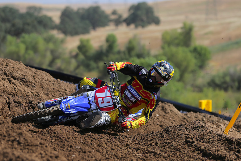 Jeremy Martin is now 4-4 in moto wins for the season.