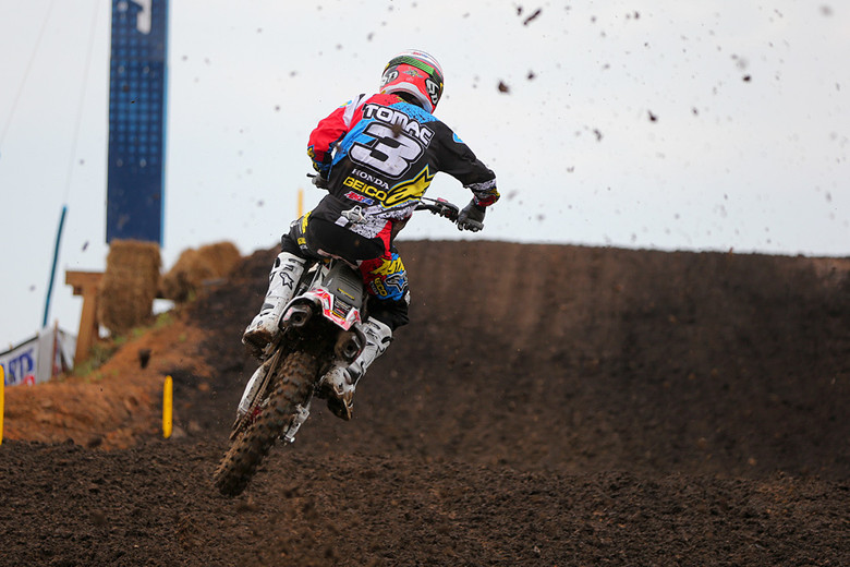 Did the time off with a broken collarbone slow Eli Tomac? Nope.