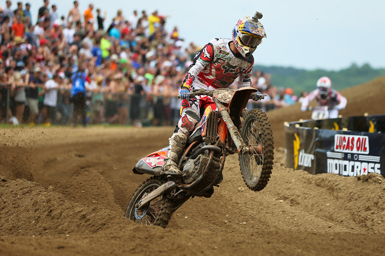 Ken Roczen (Red Bull KTM) made Red Bud look easy, with a pair of moto wins.