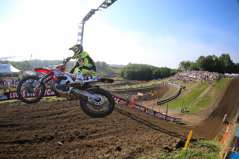 Trey Canard brought a little something different to Unadilla and grabbed the top spot.