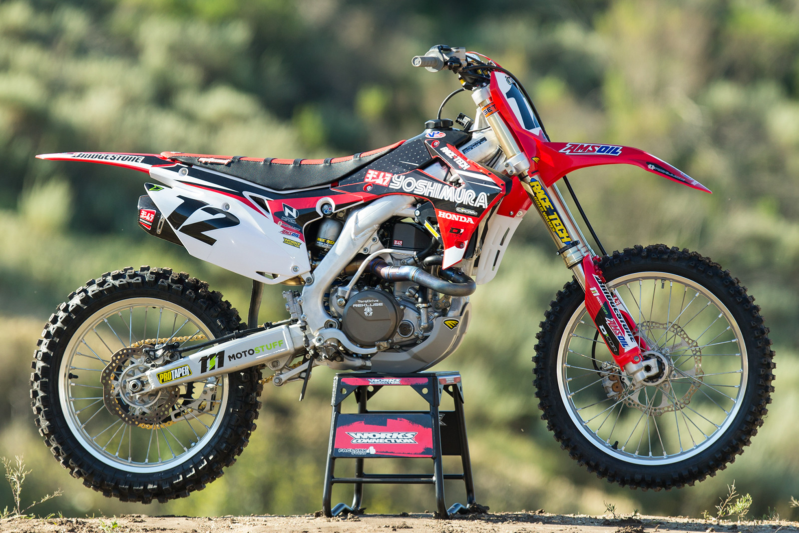 Tested 2015 Honda CRF450R Project Bike 4
