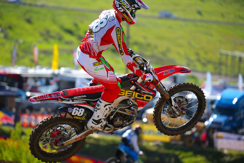 Christian Craig turned some heads with the fastest lap in the 250s.