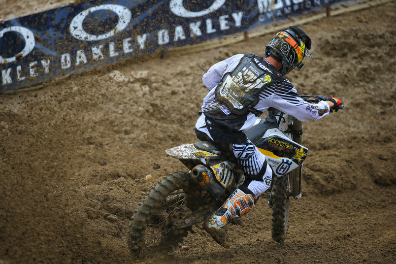 Christophe Pourcel worked his usual practice magic, and grabbed the top qualifier position in the 450s.