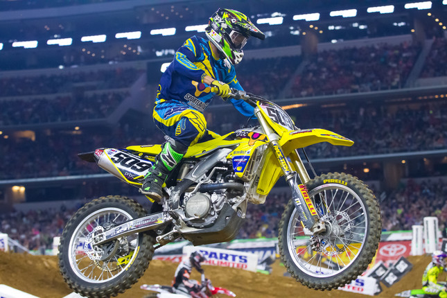 TOUGH OUTING IN ARLINGTON FOR NAGY AND TEAM MICROBILT/PRBC SUZUKI