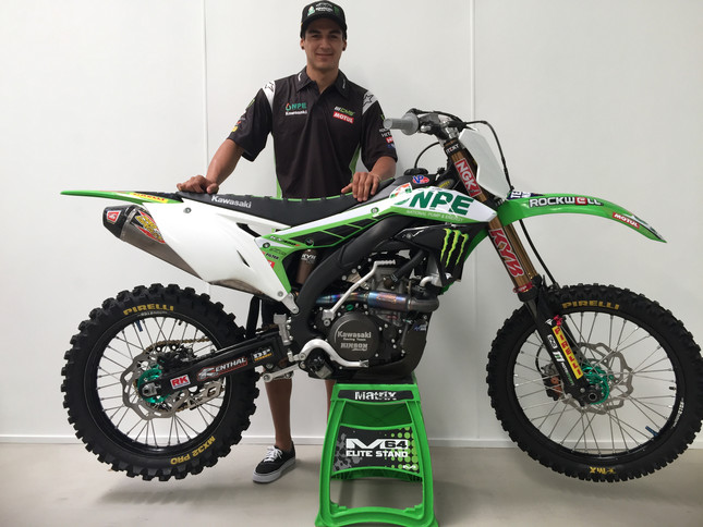 Nathan Crawford Signs with NPE Monster Energy Kawasaki for 2017