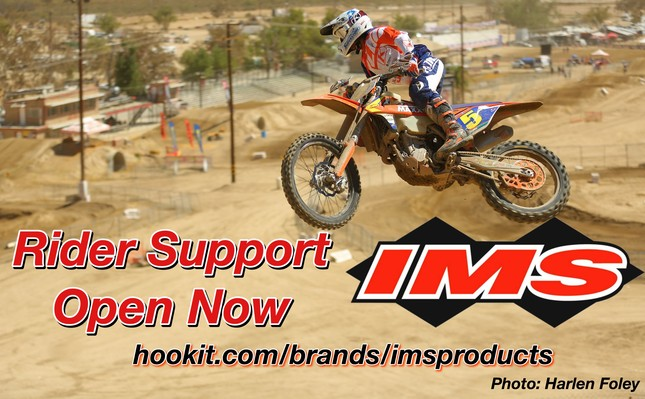 IMS Products: Rider Support Now Open