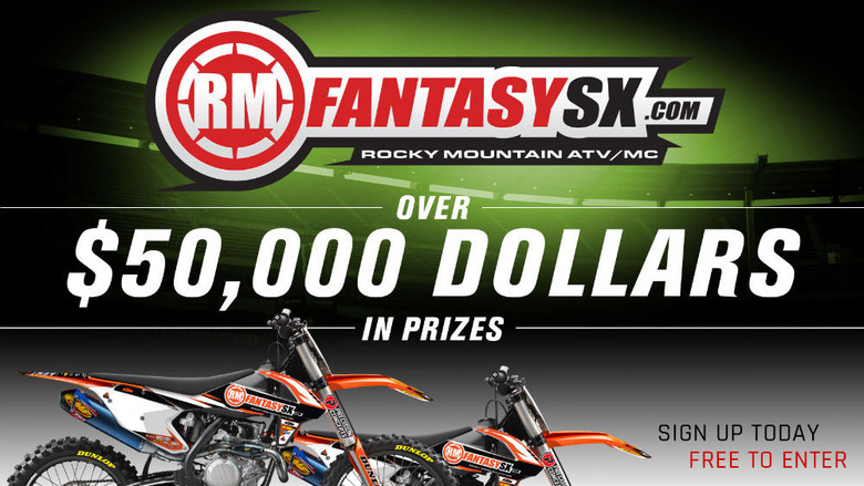 KTM 450 SX-F and KTM 250 SX-F Offered as Prizes in 2017 RMFantasySX Season