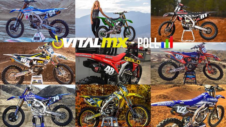 Vital MX Poll: Bikes of Supercross 2017 Sneak Peek - 250s