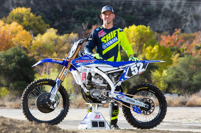 51FIFTY Energy Drink Yamaha - Tyler Bowers Joins The Team